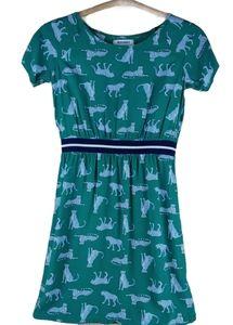 Old Navy girls L cheetah print dress